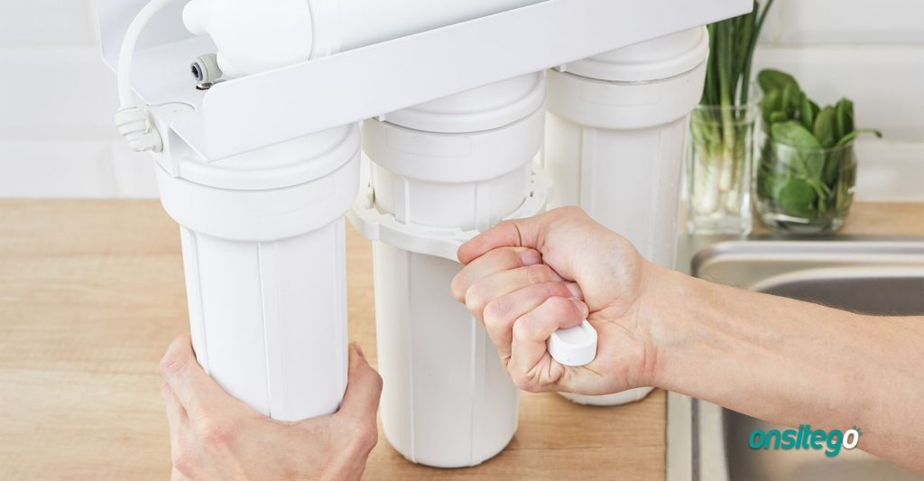 Water Purifier Maintenance Removing Filters