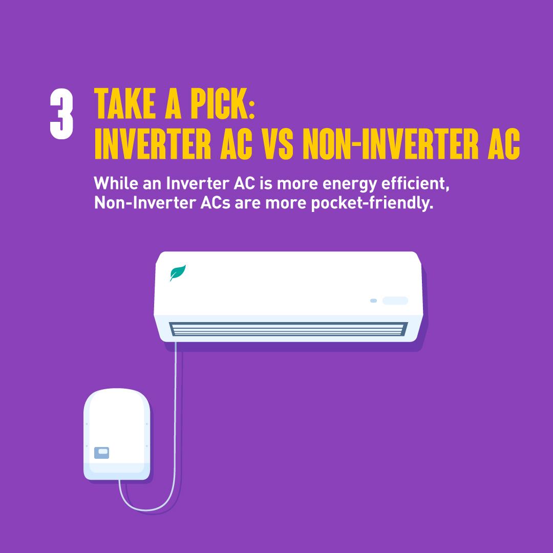 Inverter vs Non-Inverter AC