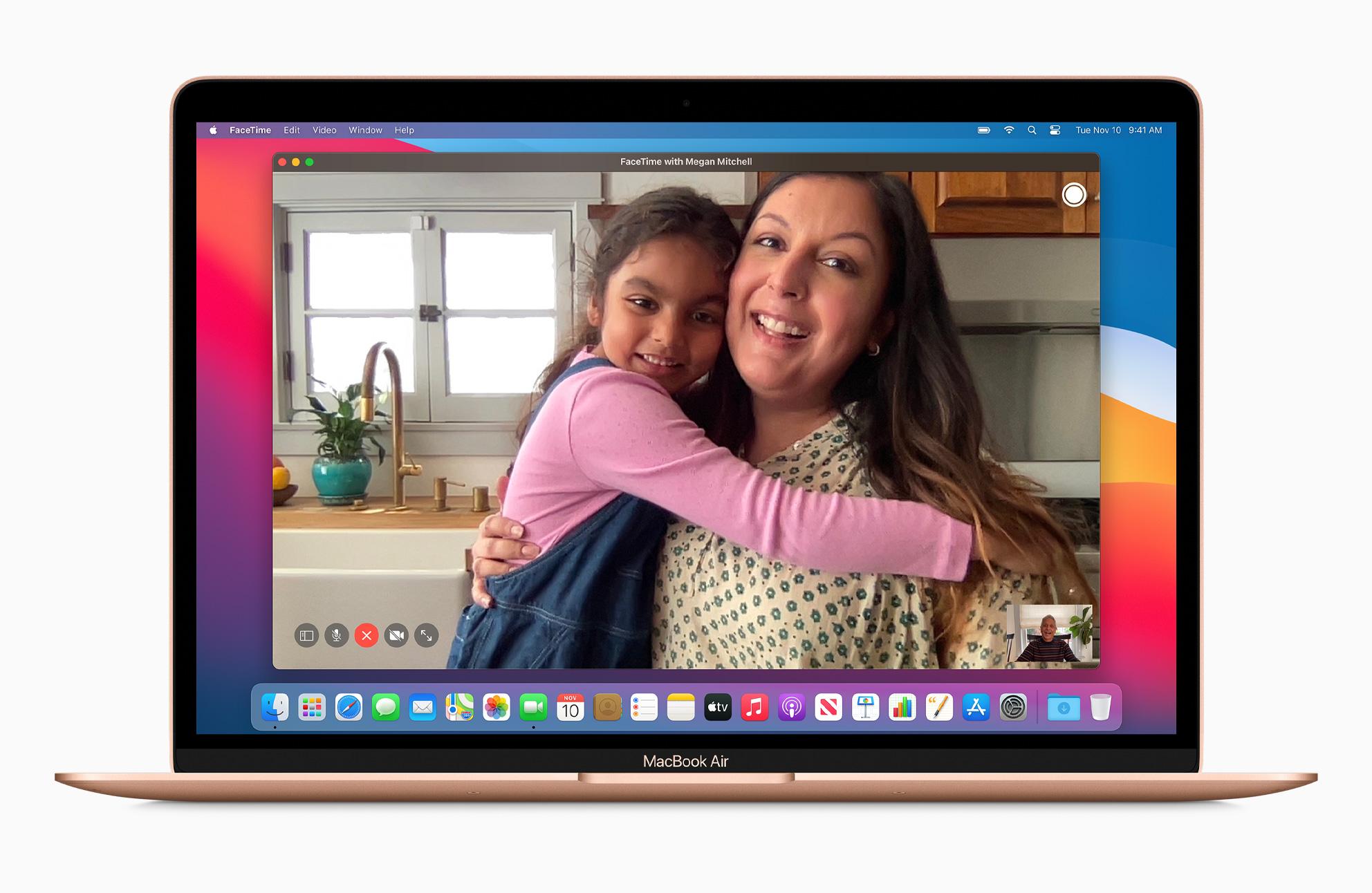 Apple MacBook Air Gold FaceTime