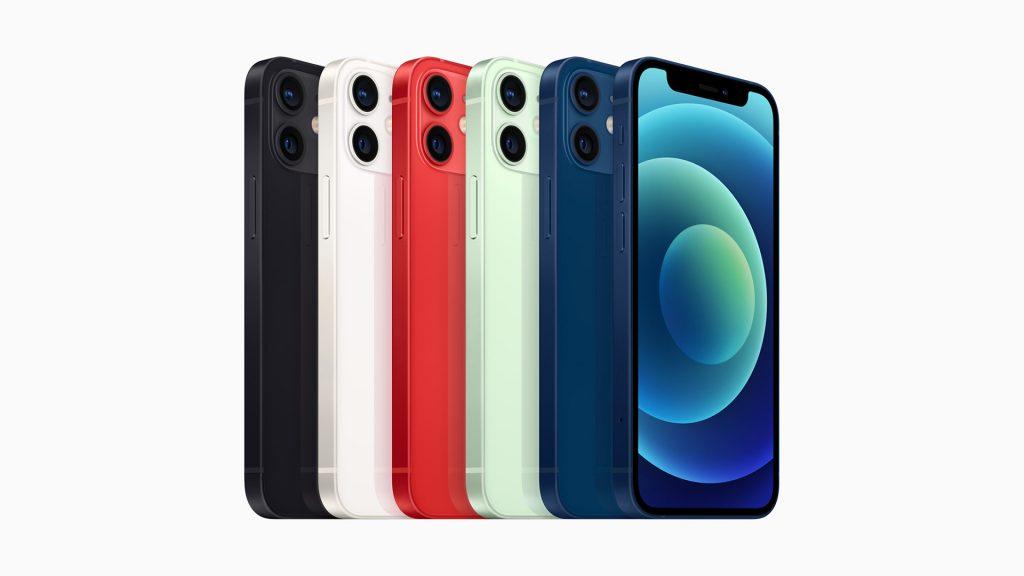 Apple iPhone 12 Mini Colours