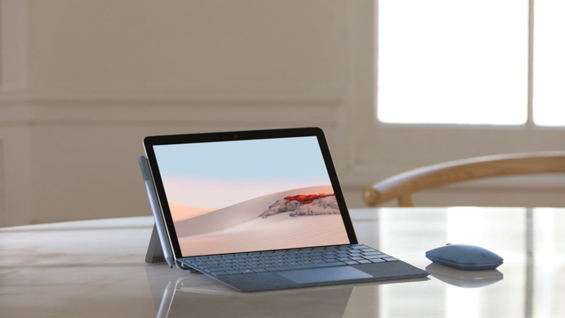 Microsoft Surface Go 2 With Surface Mouse