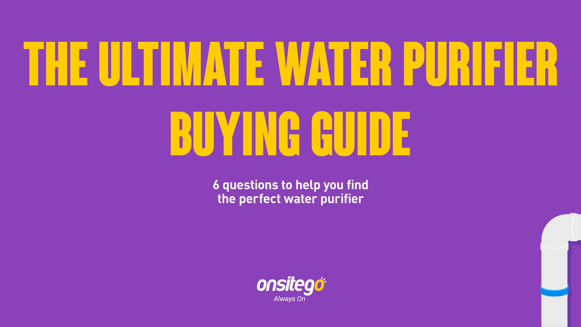 How to Select the Right Water Purifier for Home