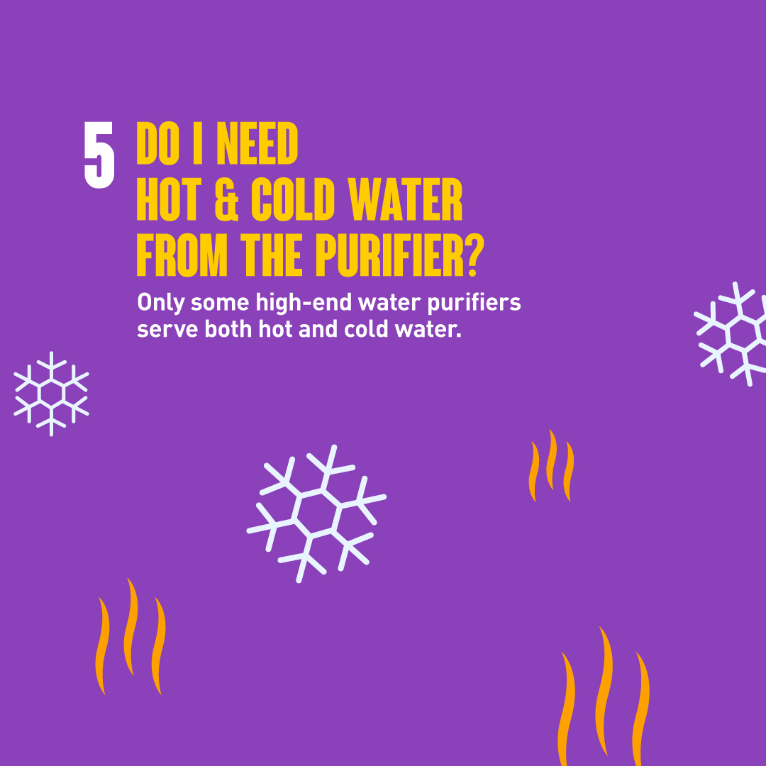 Water Purifier Hot Cold Water