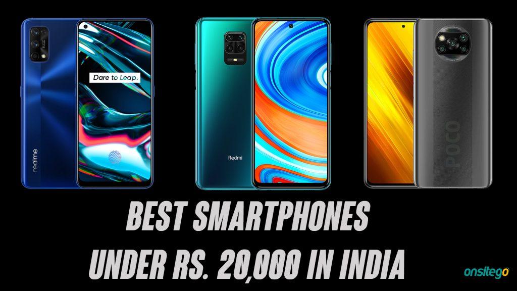 Best Smartphones Under ₹20,000 in India [2020]