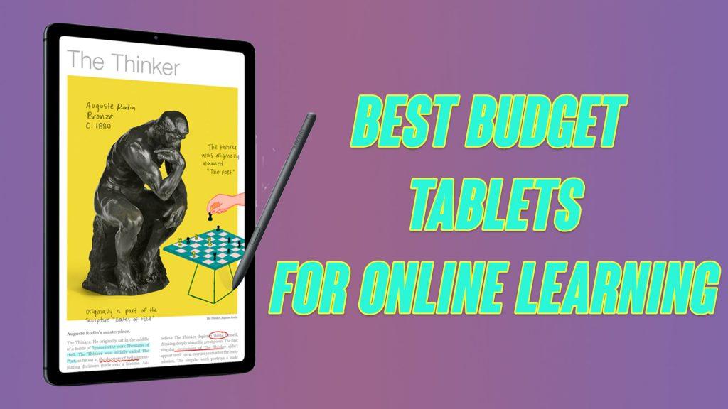 Best Pocket-Friendly Tablets for Online Learning [2020]