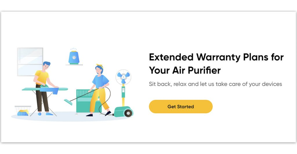 Onsitego Air Purifier Extended Warranty Plan