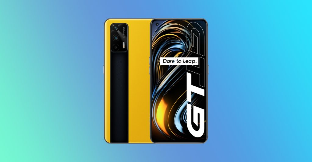 Realme GT Racing Yellow