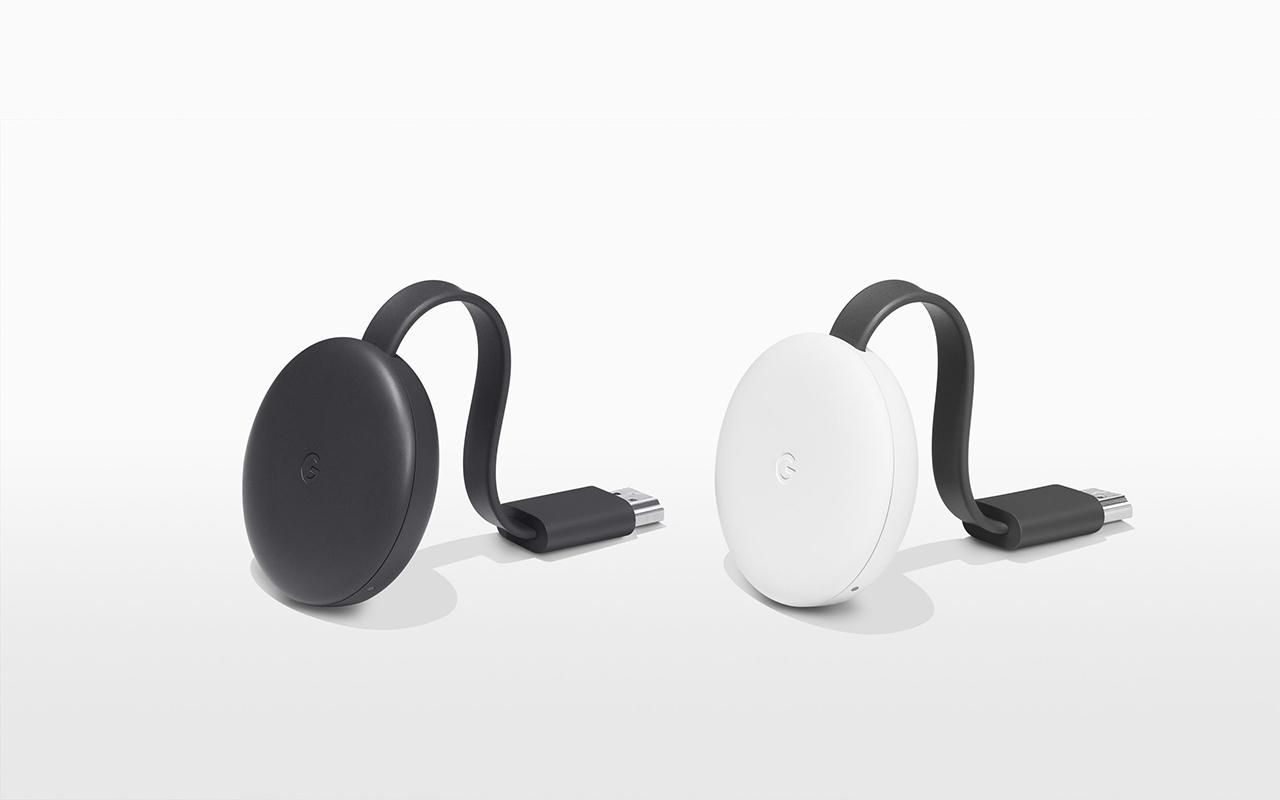 Google Chromecast 3 Colours