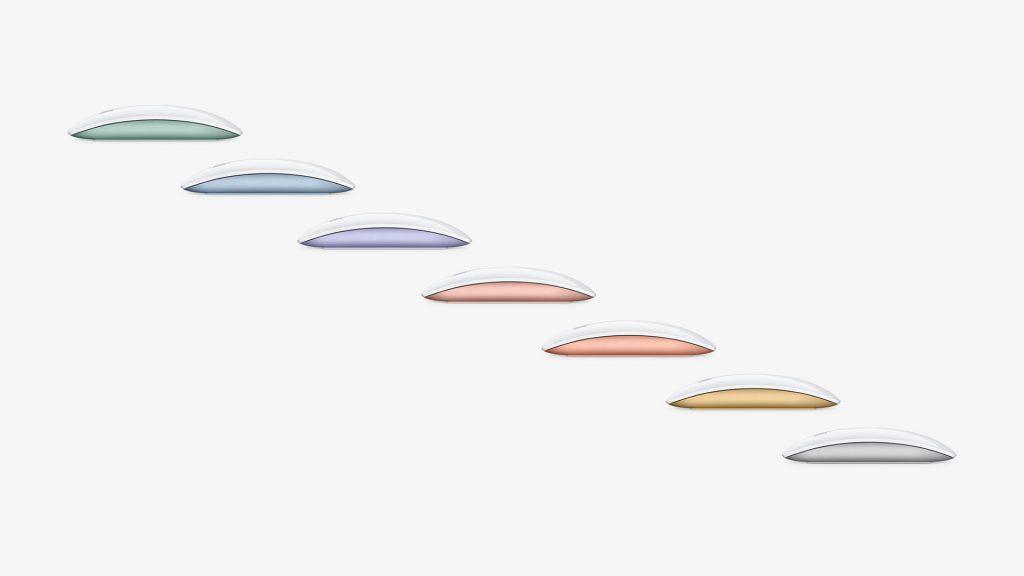 Apple Magic Mouse 2021 Colours