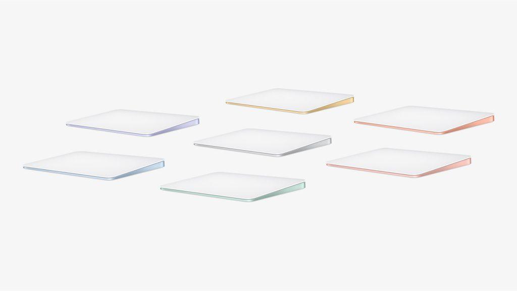 Apple Magic Trackpad 2021 Colours
