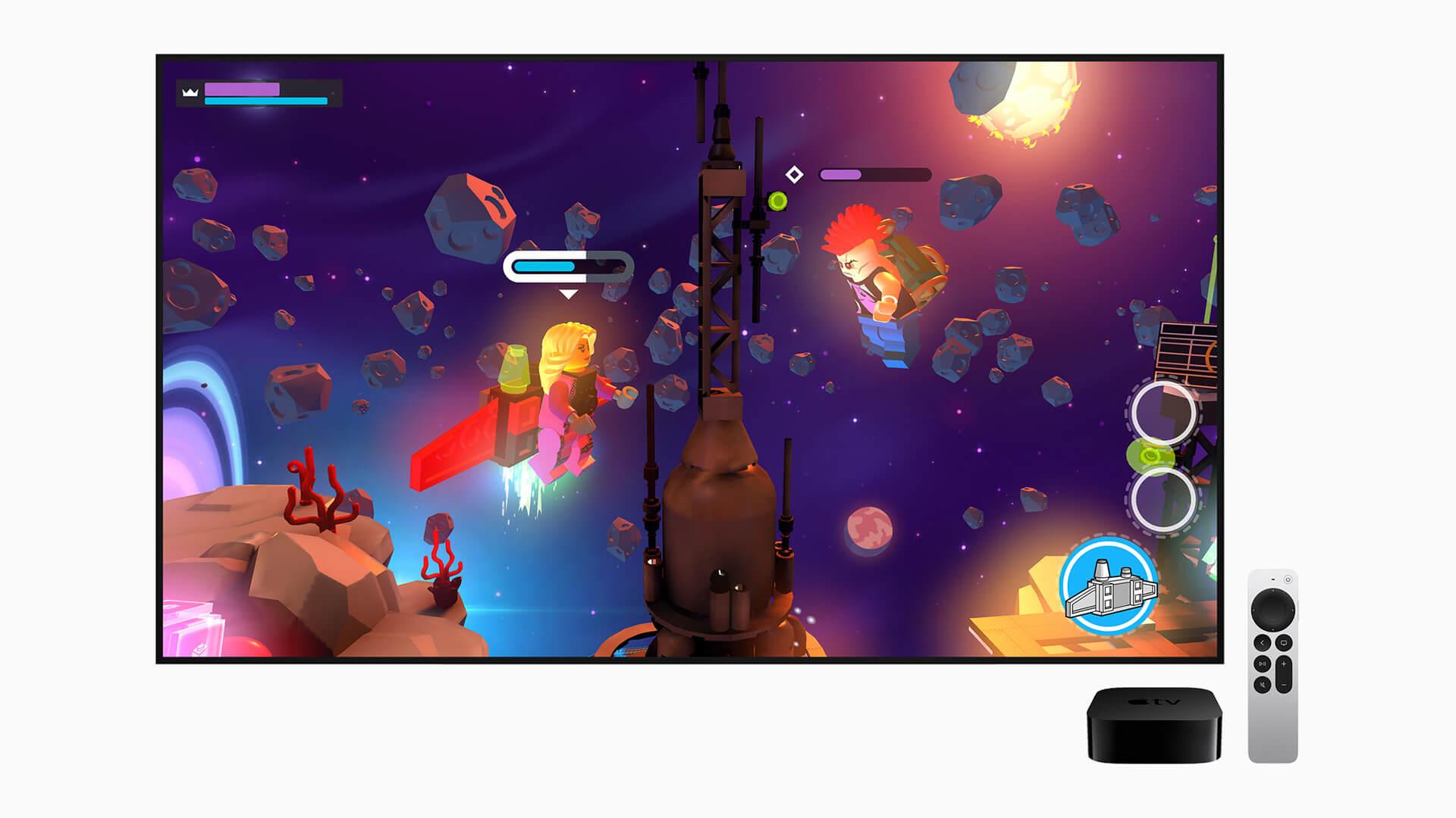 Apple TV 4K 2021 Apple Arcade Gaming