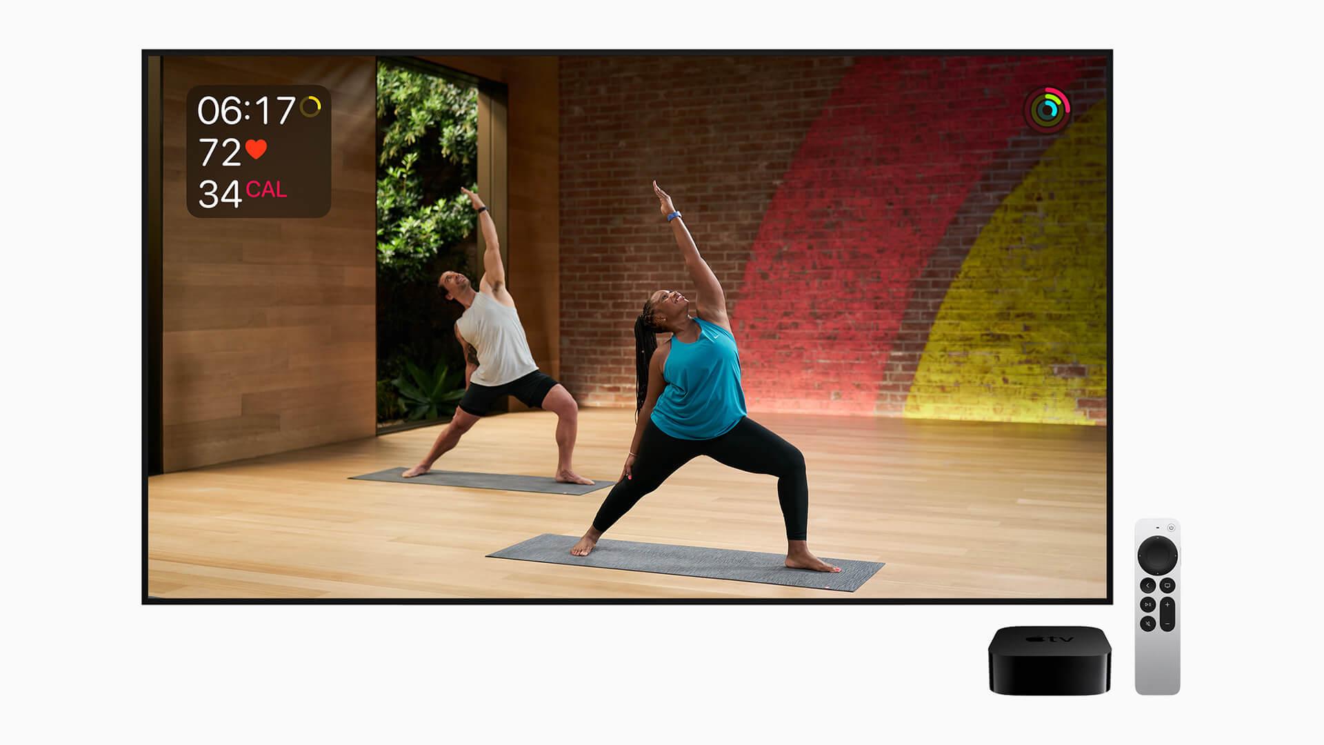 Apple TV 4K 2021 Apple Fitness Plus