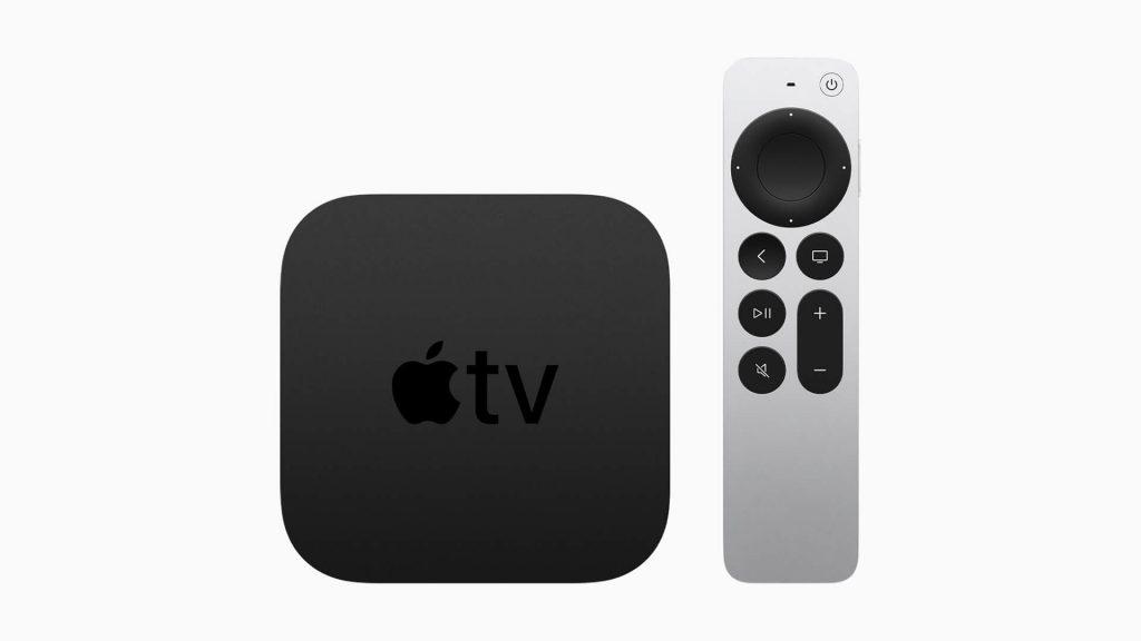 Apple TV 4K 2021 New Siri Remote