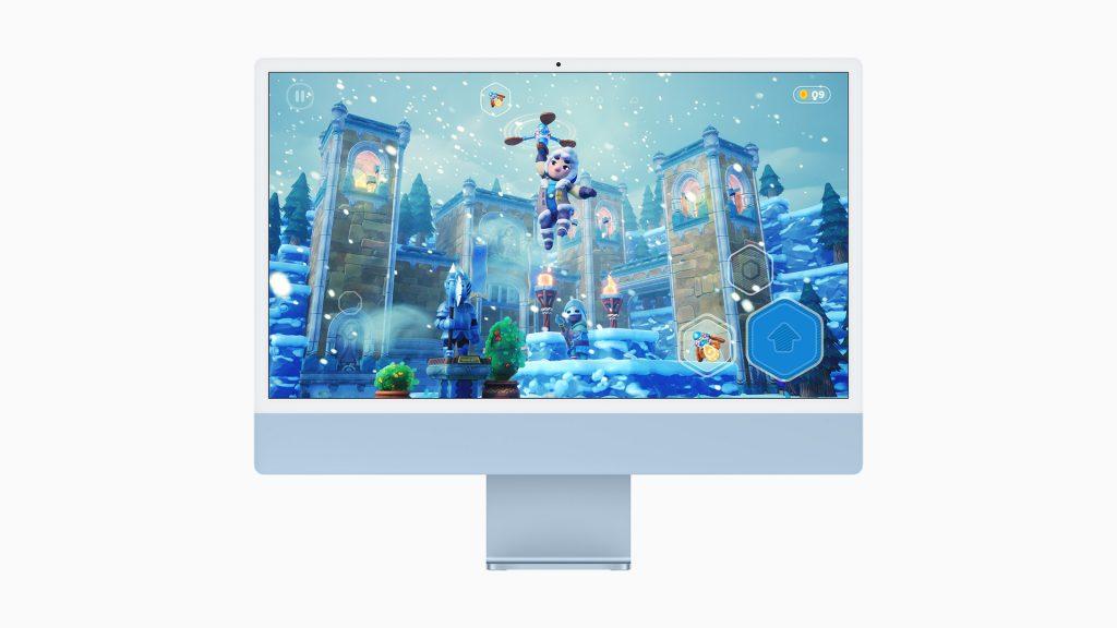 Apple iMac 2021 Blue