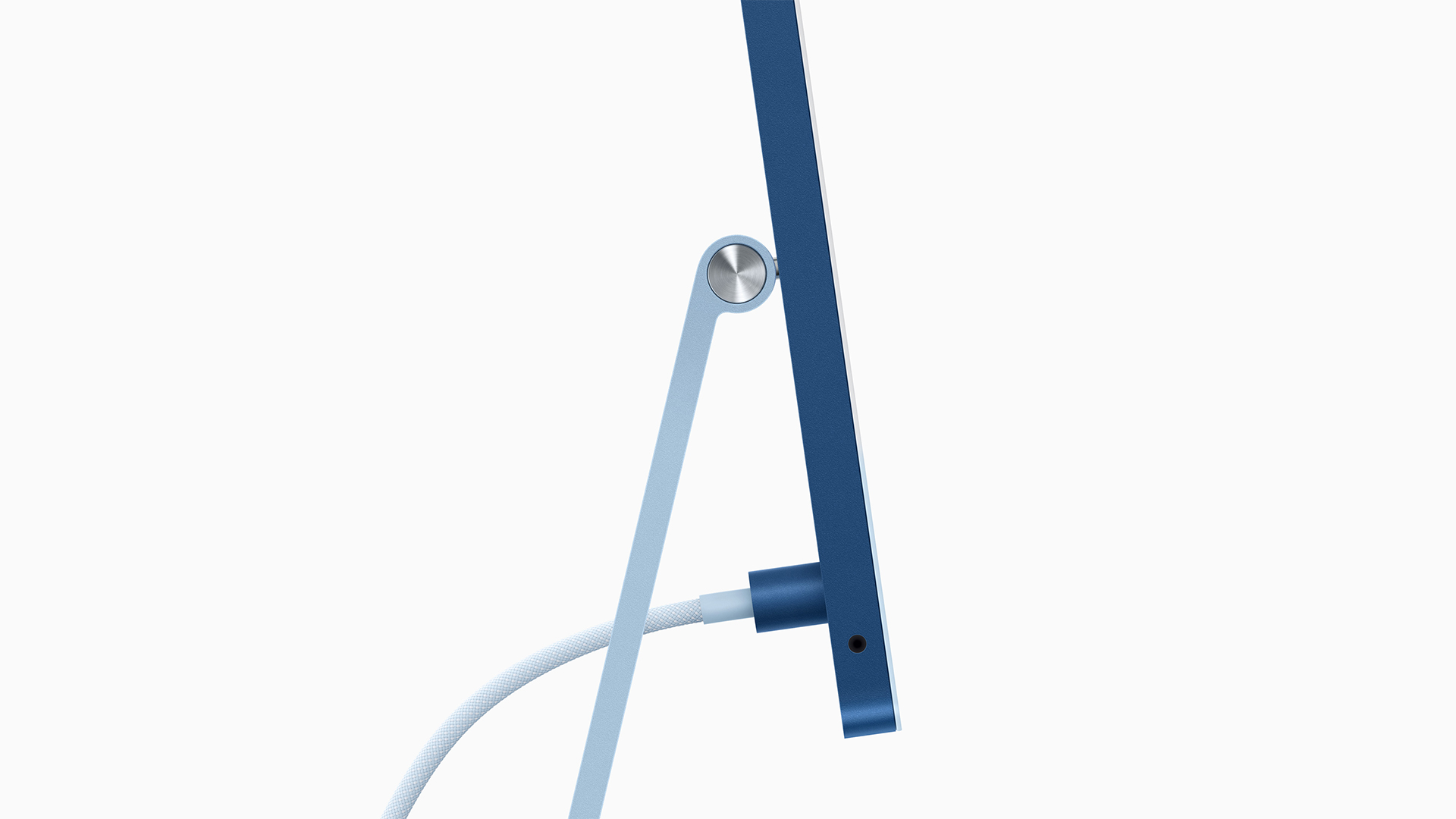 Apple iMac 2021 Cord Connection