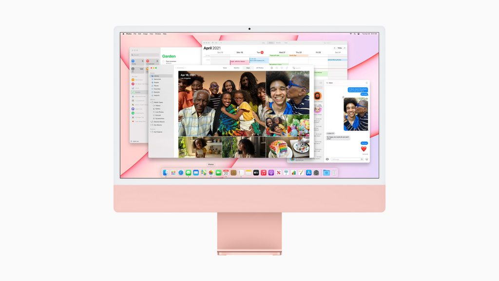 Apple iMac 2021 Red