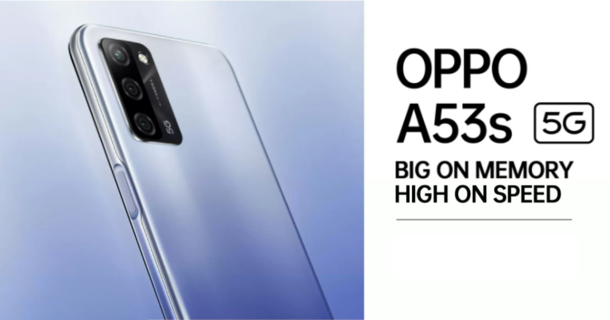 OPPO A53s 5G Launched as the Most Affordable 5G Phone in India: Price, Specifications