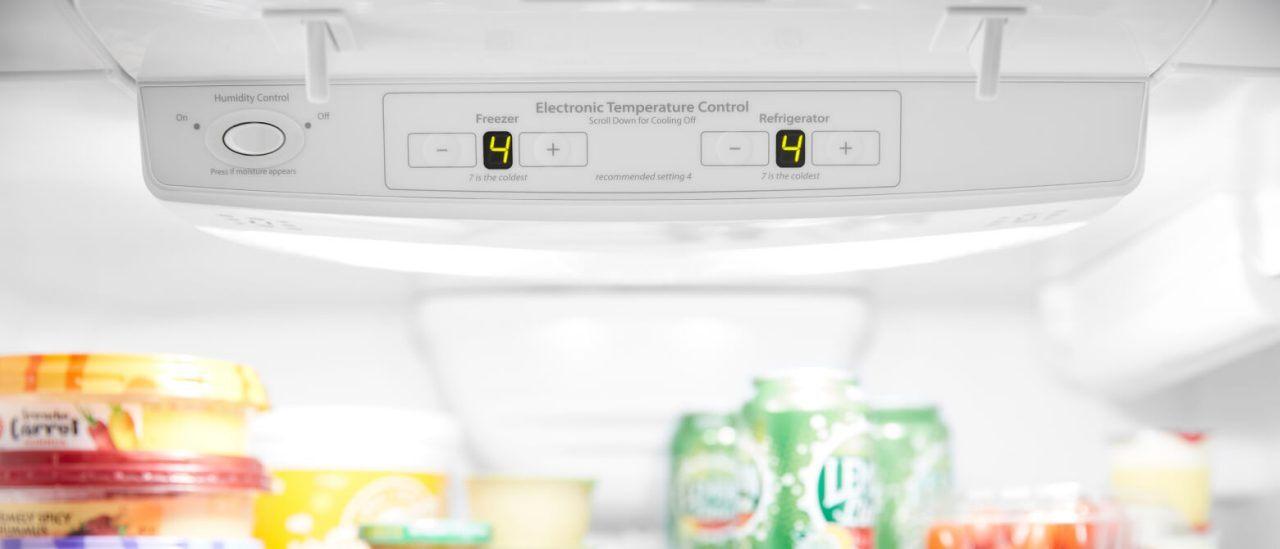 Refrigerator Temperature Controls Settings