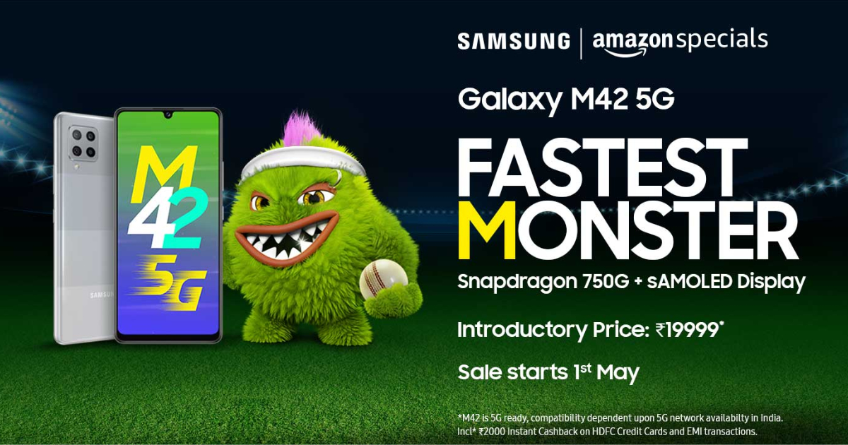 Samsung Galaxy M42 5G Launched in India: Price, Specifications