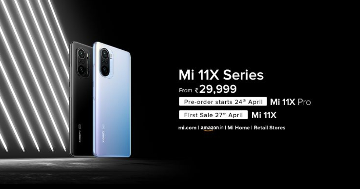 Xiaomi Mi 11X and Mi 11X Pro Launched in India: Price, Specifications