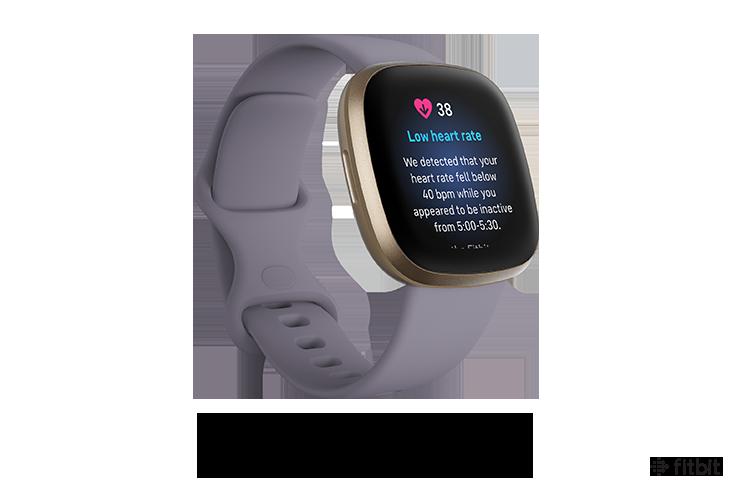 Fitbit Sense Software Update May 2021 Low Heart Rate Alert