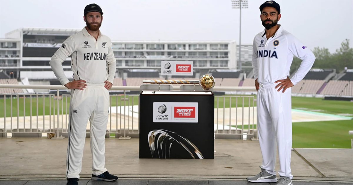 India vs New Zealand WTC Final 2021 Match