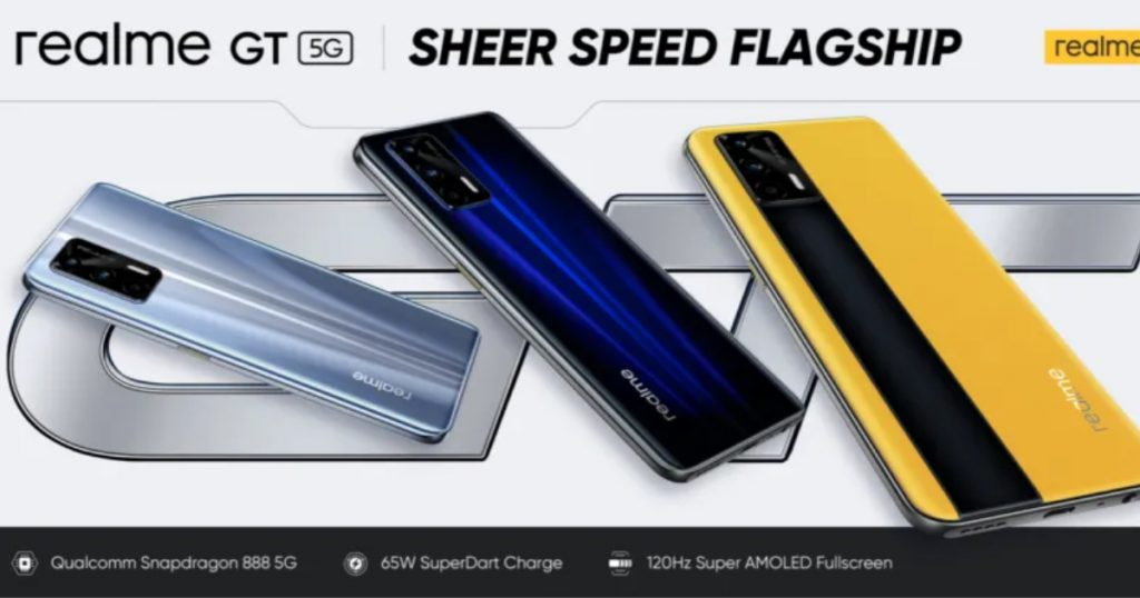Realme GT 5G Launched for Global Markets: Price, Specifications