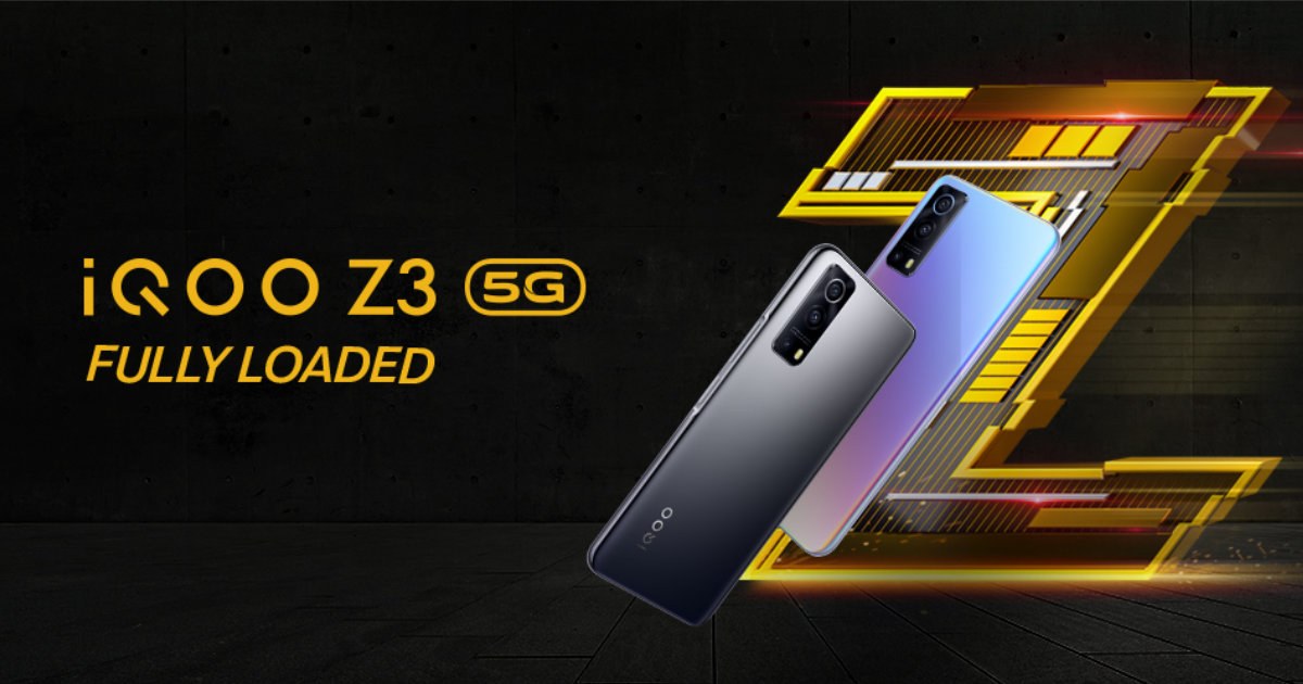 iQOO Z3 5G Launched in India as the First Snapdragon 768G Smartphone: Price, Specifications
