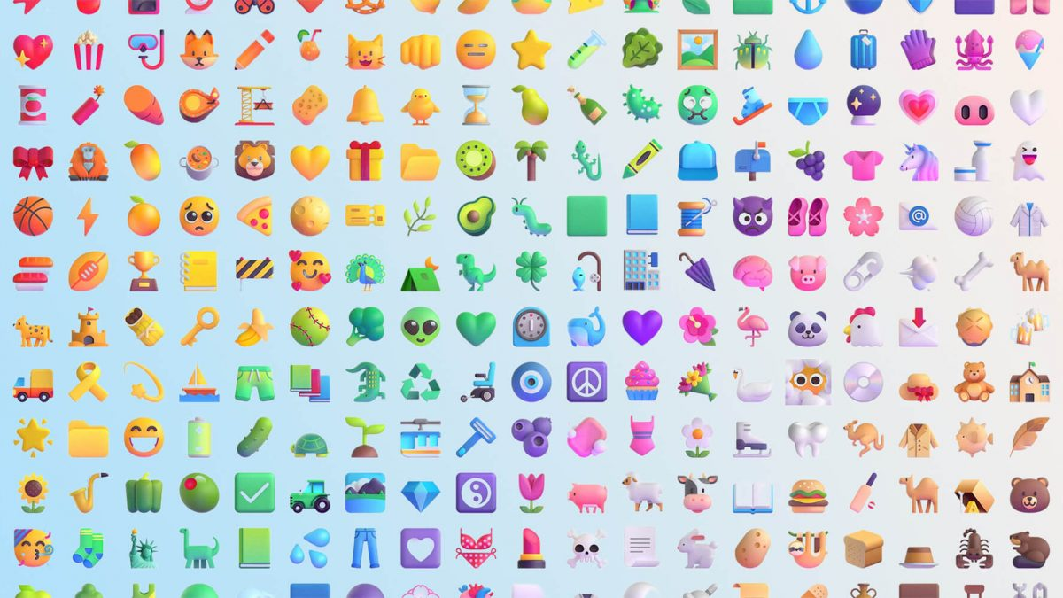 Microsoft reveals 1,800+ new emojis with colourful 3D designs; coming to Windows and Teams later this year