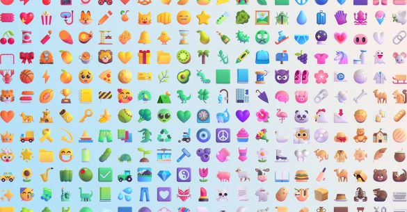 Microsoft 3D Emojis