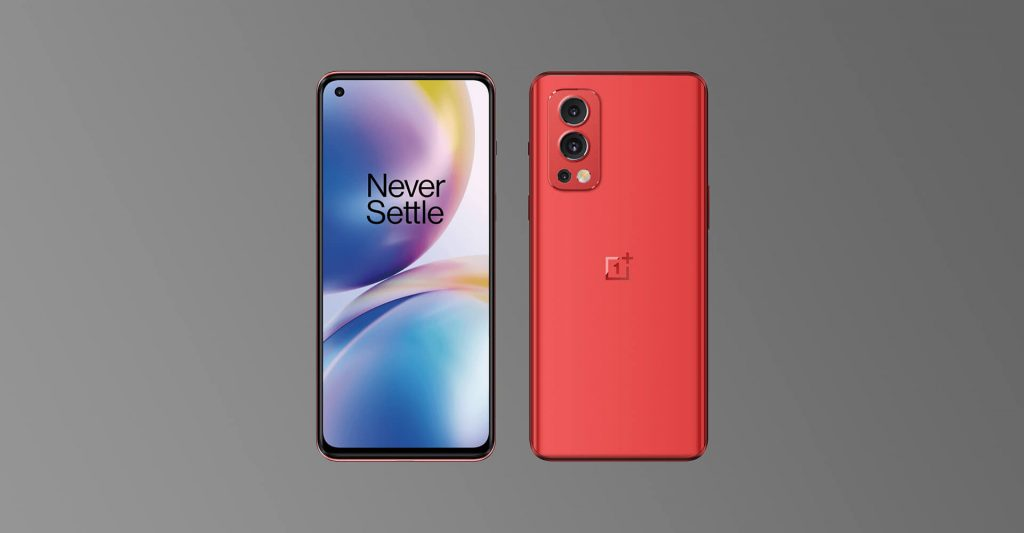 OnePlus Nord 2 Red