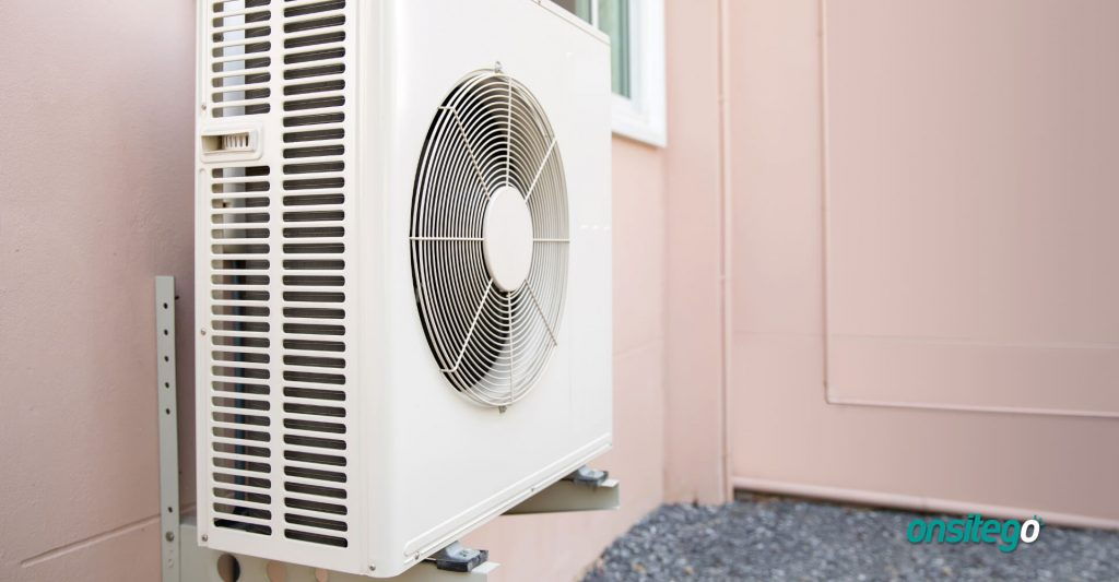 Split AC Compressor Outdoor Unit