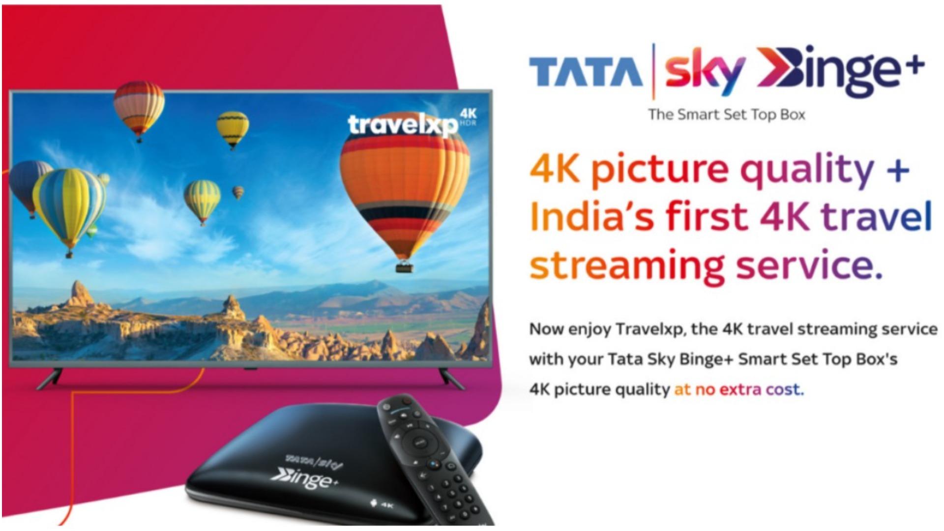 Tata Sky 4K HDR Streaming Service