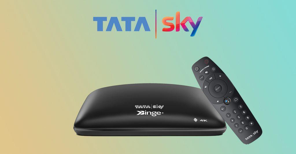 Tata Sky Binge+ Set Top Box 4K HDR