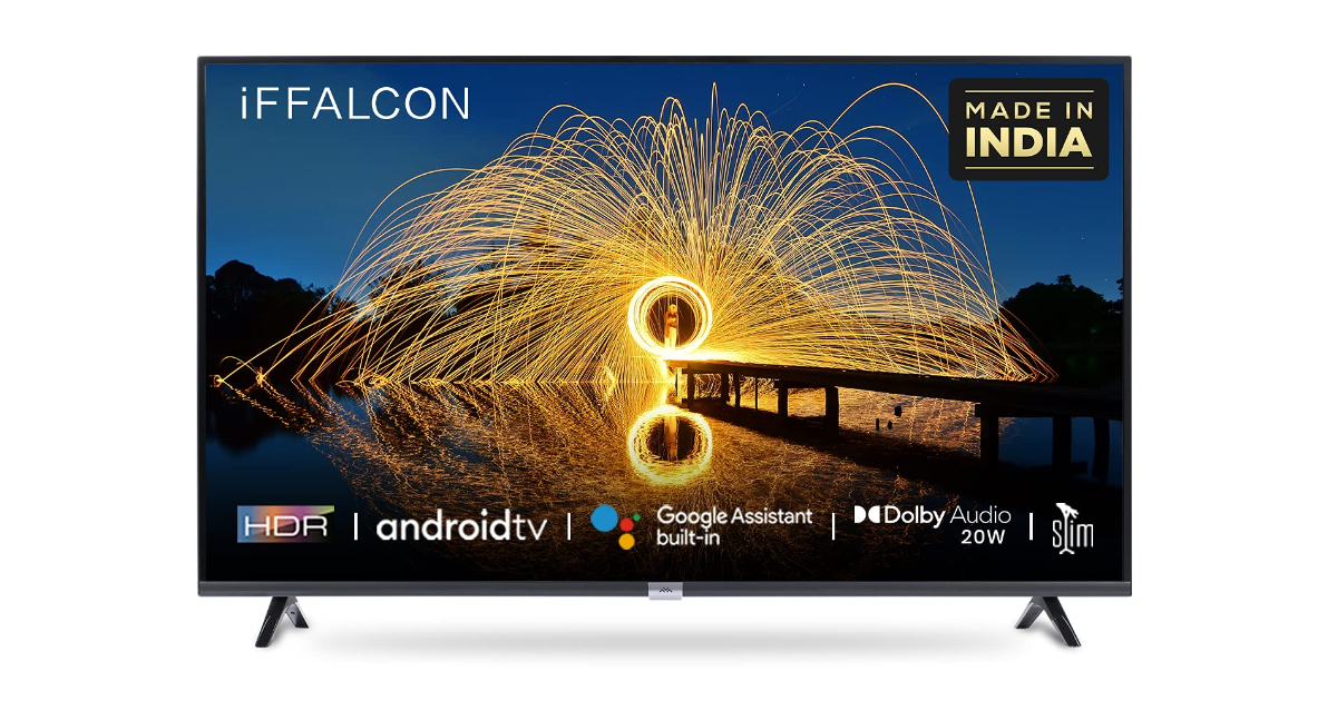 iFFALCON F2A Series TVs Launched in India With 4K Resolution, Micro-Dimming, and Android TV OS: Price, Specifications