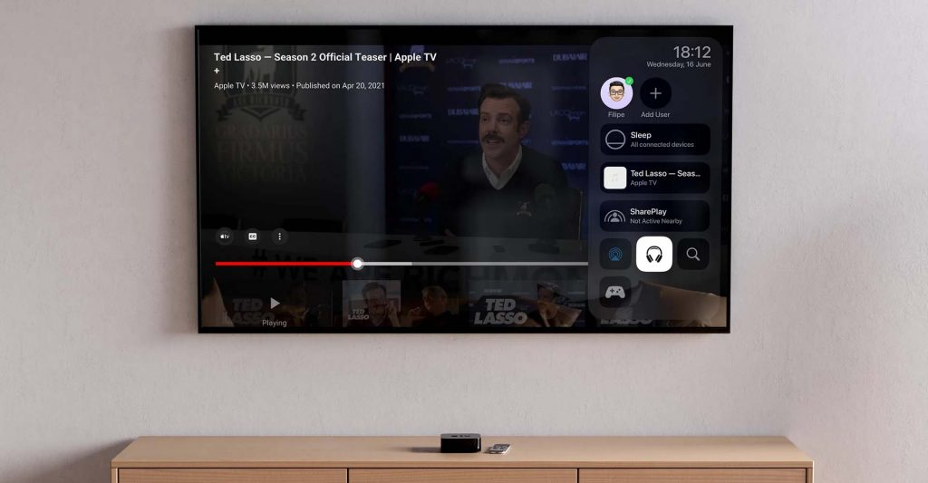 Apple tvOS 15 Running On Apple TV 4K 2021