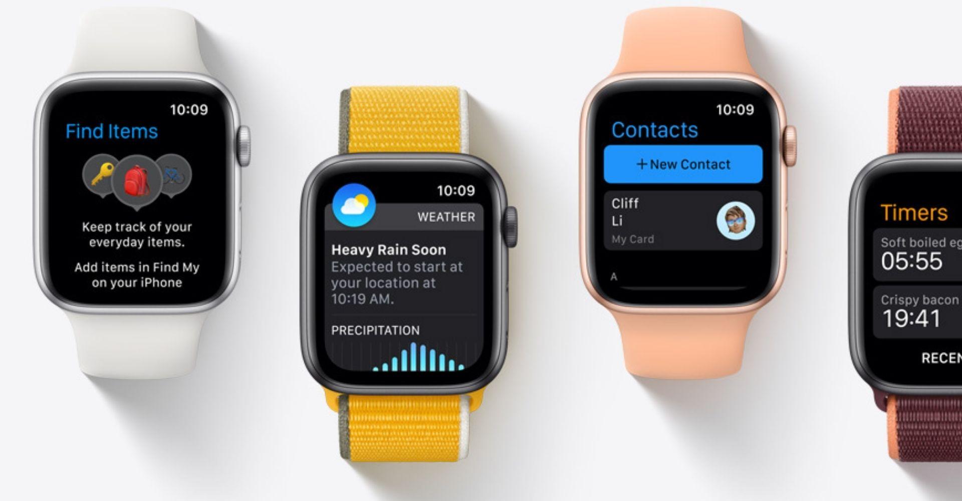 Apple watchOS 8 Running On Apple Watch