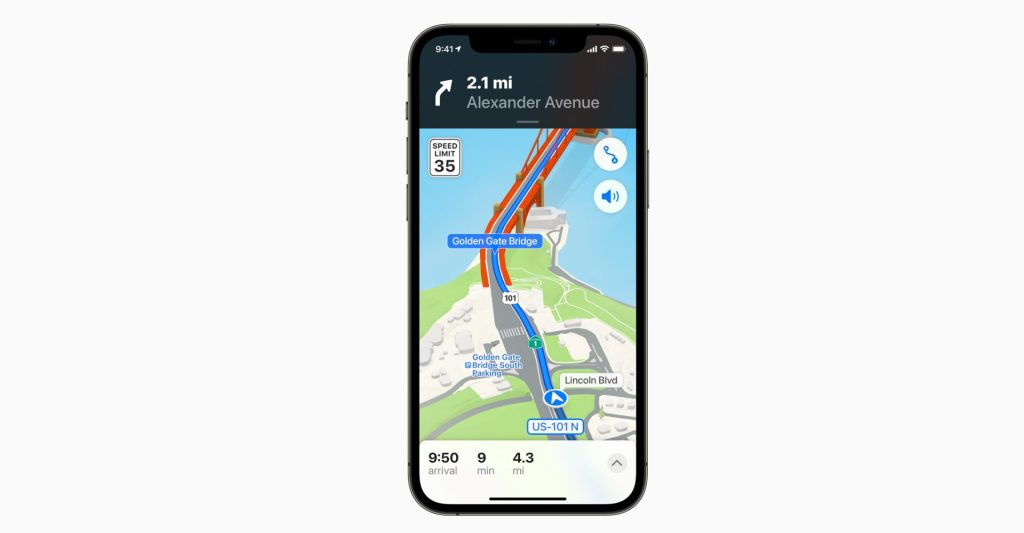 Apple Maps iOS 15