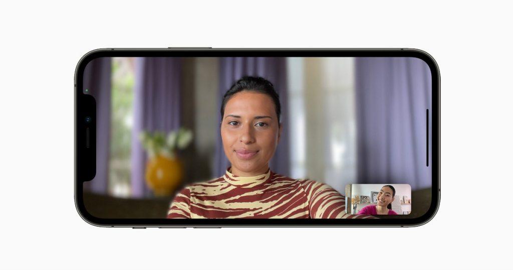 FaceTime on iOS 15