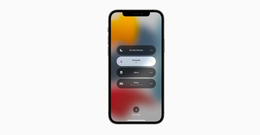 Focus Mode iOS 15