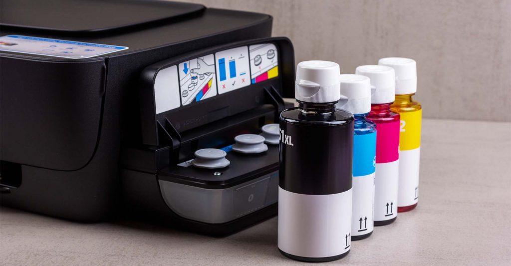 Ink Tank Printer Refill Bottles