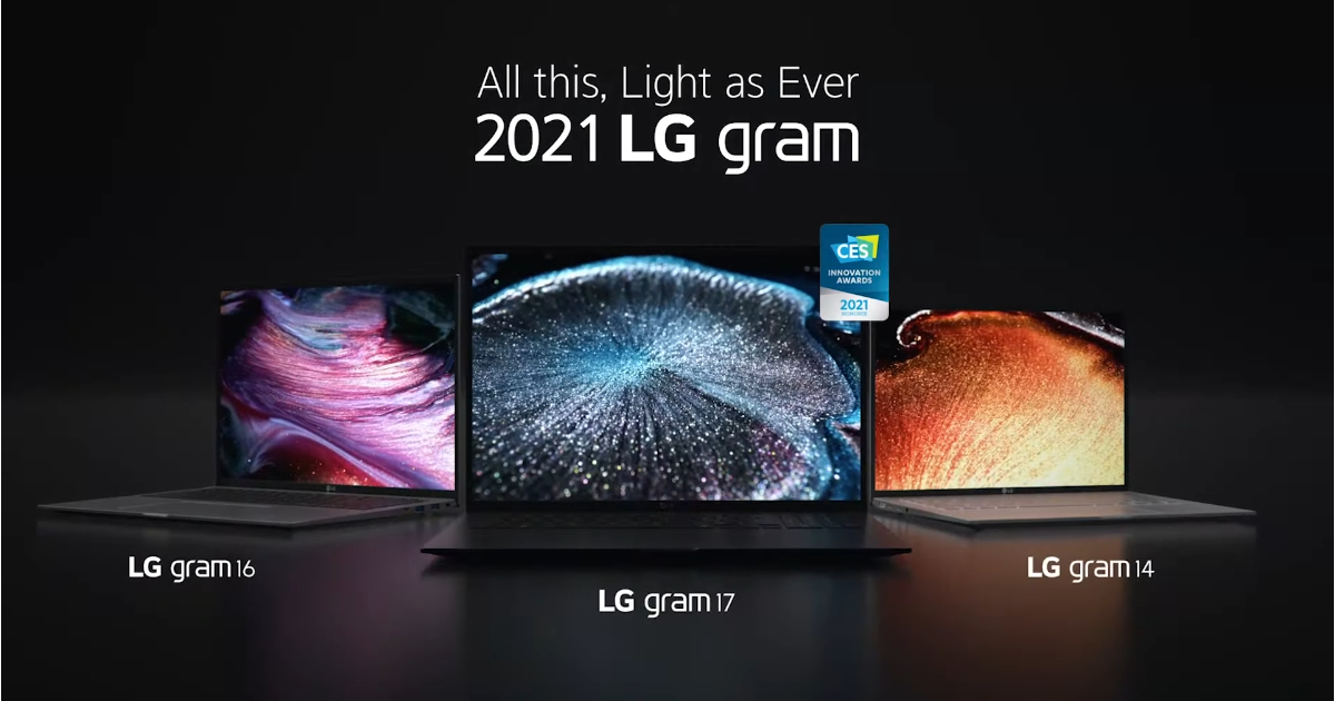 LG Gram 2021 Laptops Launched in India: Here're the 14Z90P, 16Z90P, 17Z90P Prices in India and Specifications