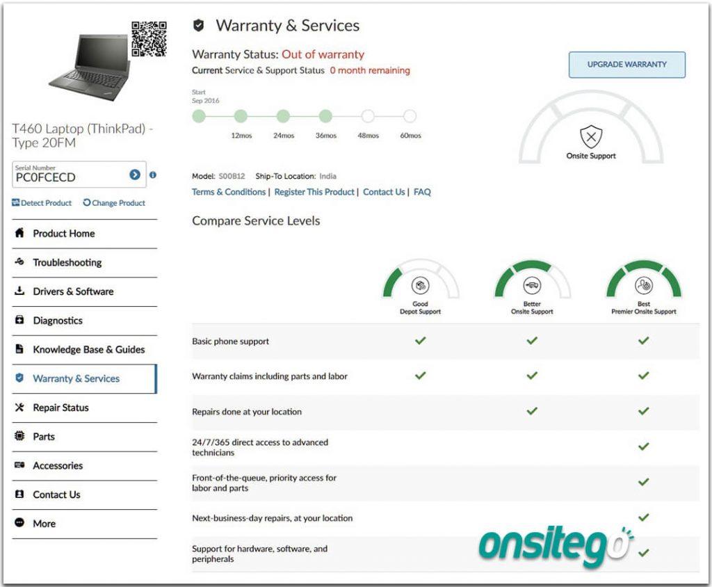 Lenovo Warranty Status Check Online