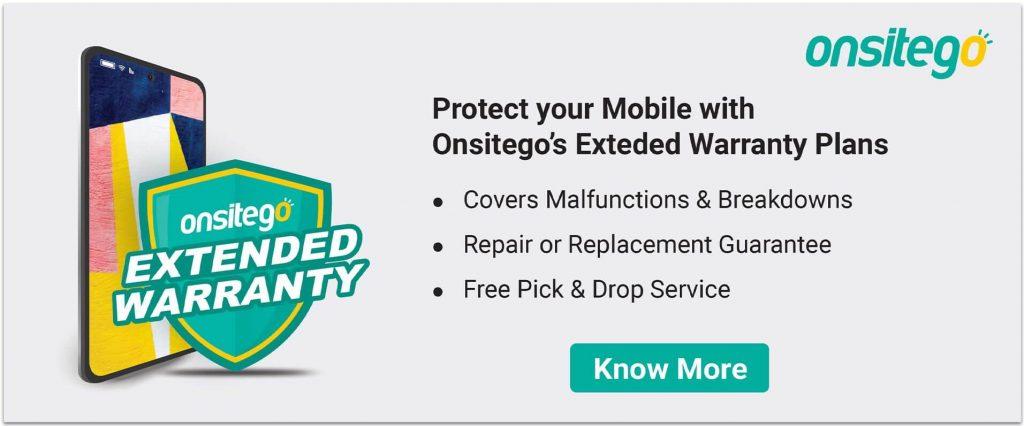 Mobile Phone Extended Warranty Onsitego