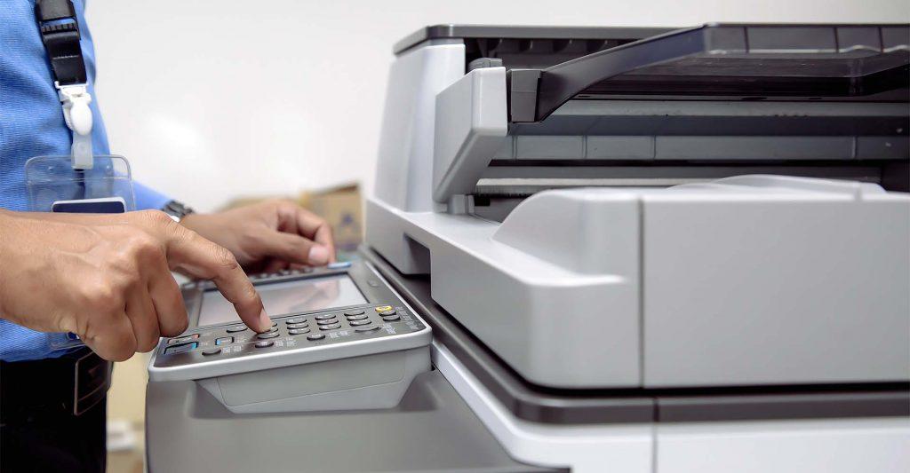 Multifunction Printer Touchscreen Display
