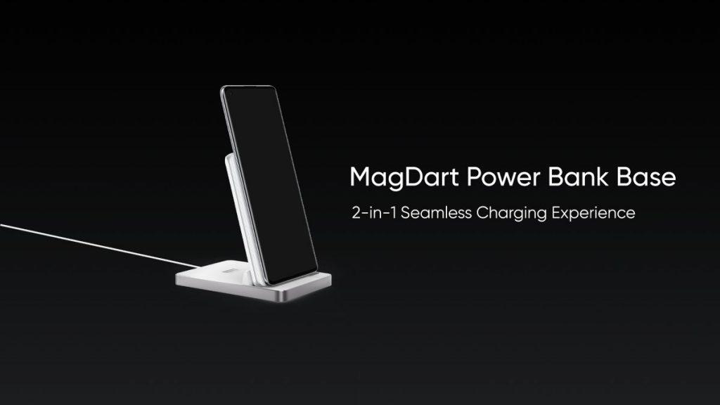 Realme MagDart Power Bank Design Cum Wireless Charger