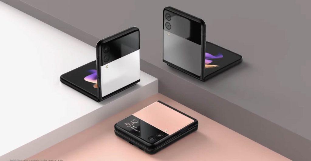 Samsung Galaxy Z Flip 3 Online Exclusive Colours