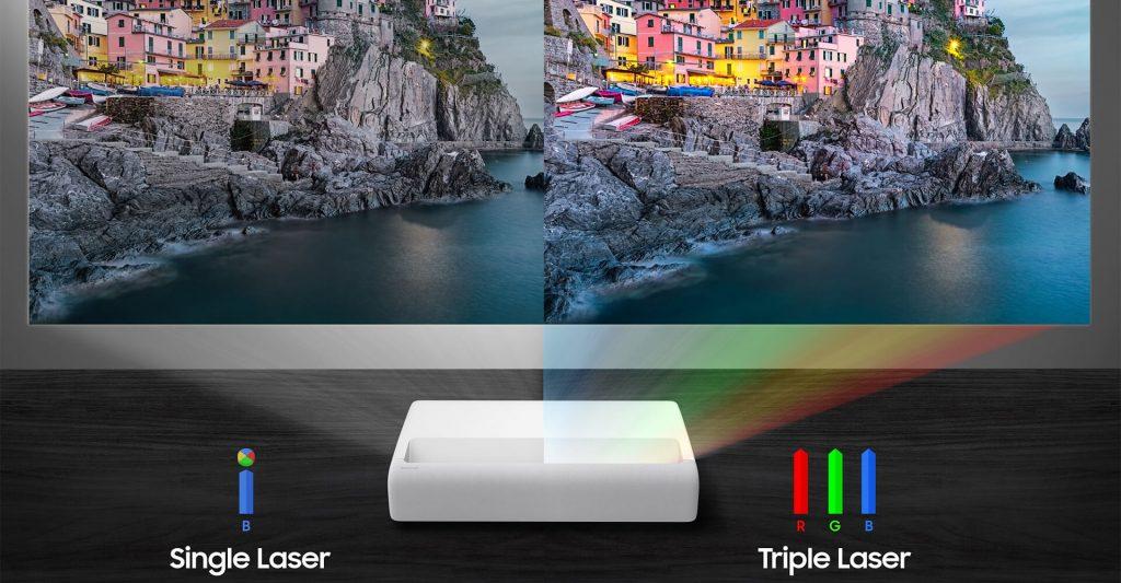 Samsung The Premiere LSP7T Single Laser vs LSP9T Triple Laser Projector
