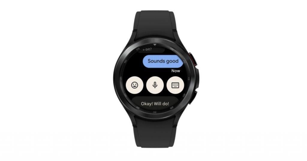 Wear OS Messaging app