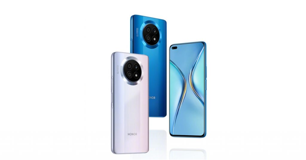 Honor X20 5G color options